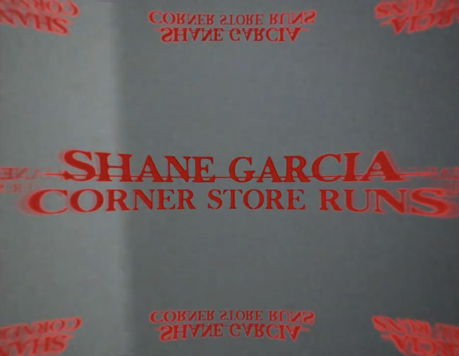 Corner Store Runs (official lyric visualizer)-[Shane Garcia]
