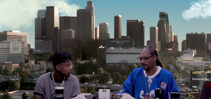 WATCH 21 SAVAGE'S BRAND NEW INTERVIEW WITH SNOOP DOGG ON GGN