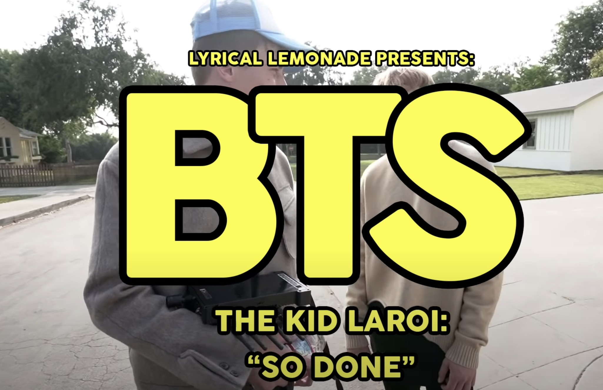 """Behind The Scenes of The Kid LAROI's """"So Done"""" Video Shoot"""