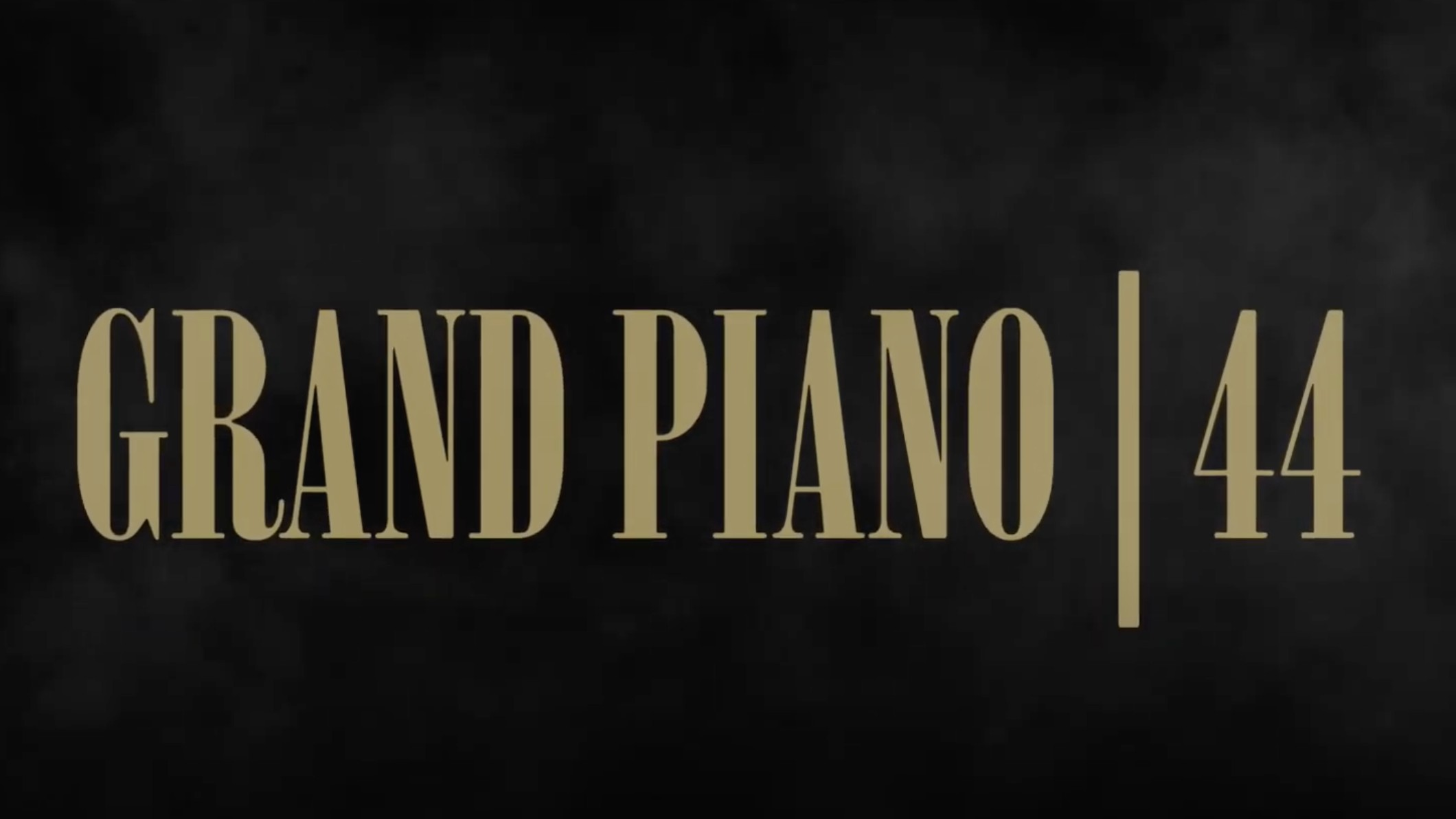 Grand Piano / 44 – [First Class Bee]
