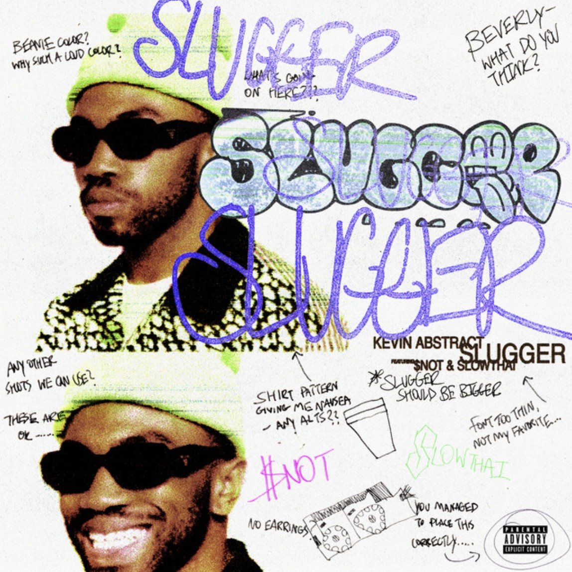 Slugger – [Kevin Abstract] ft. [$NOT] & [slowthai]