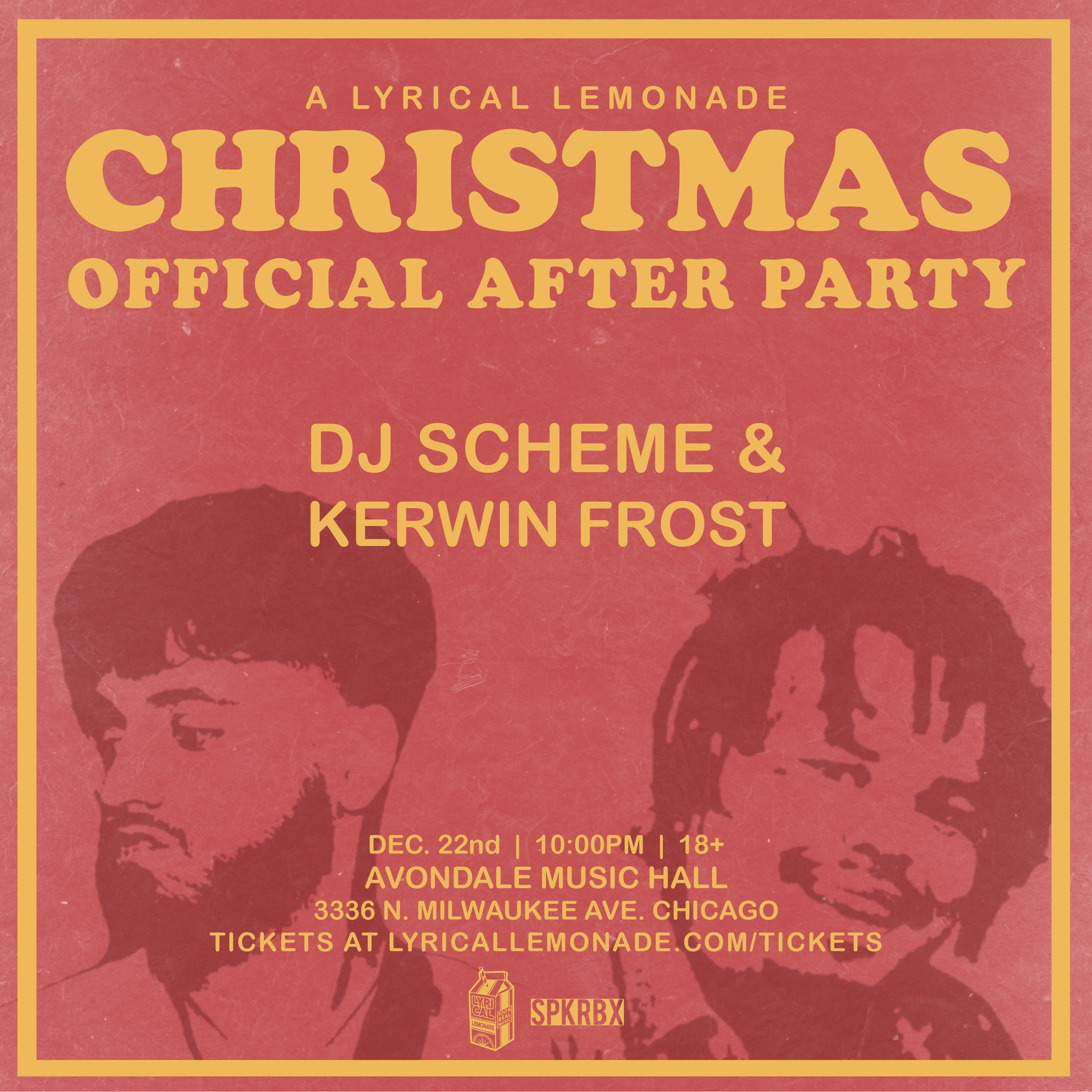The Lyrical Lemonade Christmas Afterparty