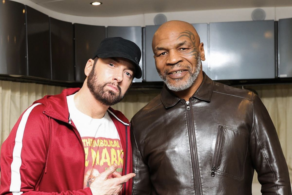 Watch Eminem on Hotboxin' With Mike Tyson