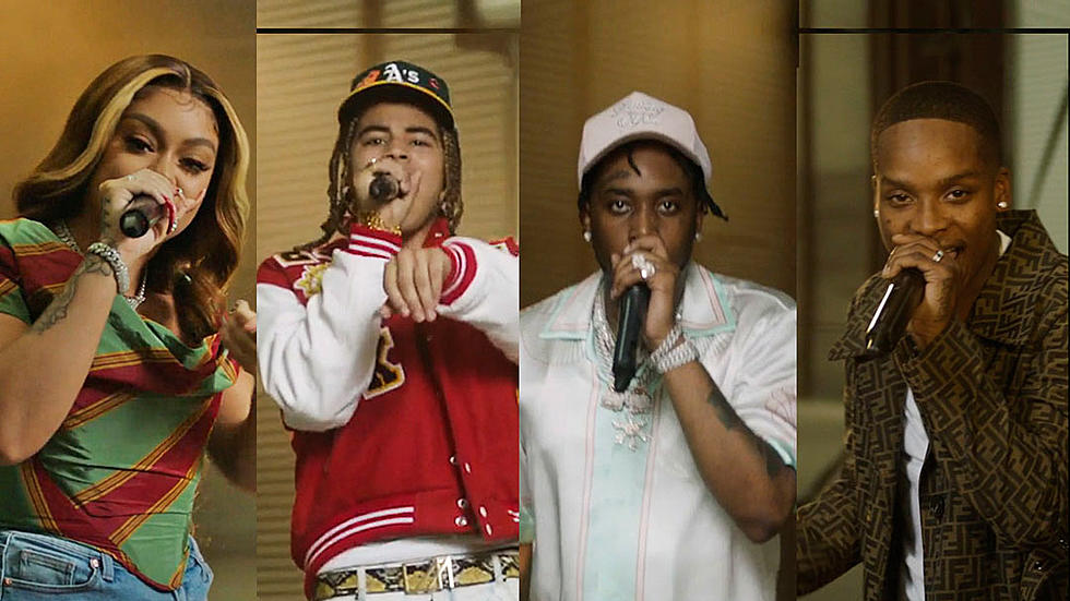 Watch Fivio Foreign, Calboy, 24kGoldn and Mulatto's 2020 XXL Freshman Cypher